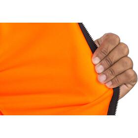 Alé Cycling Solid Color Block Långärmad cykeltröja Herr orange